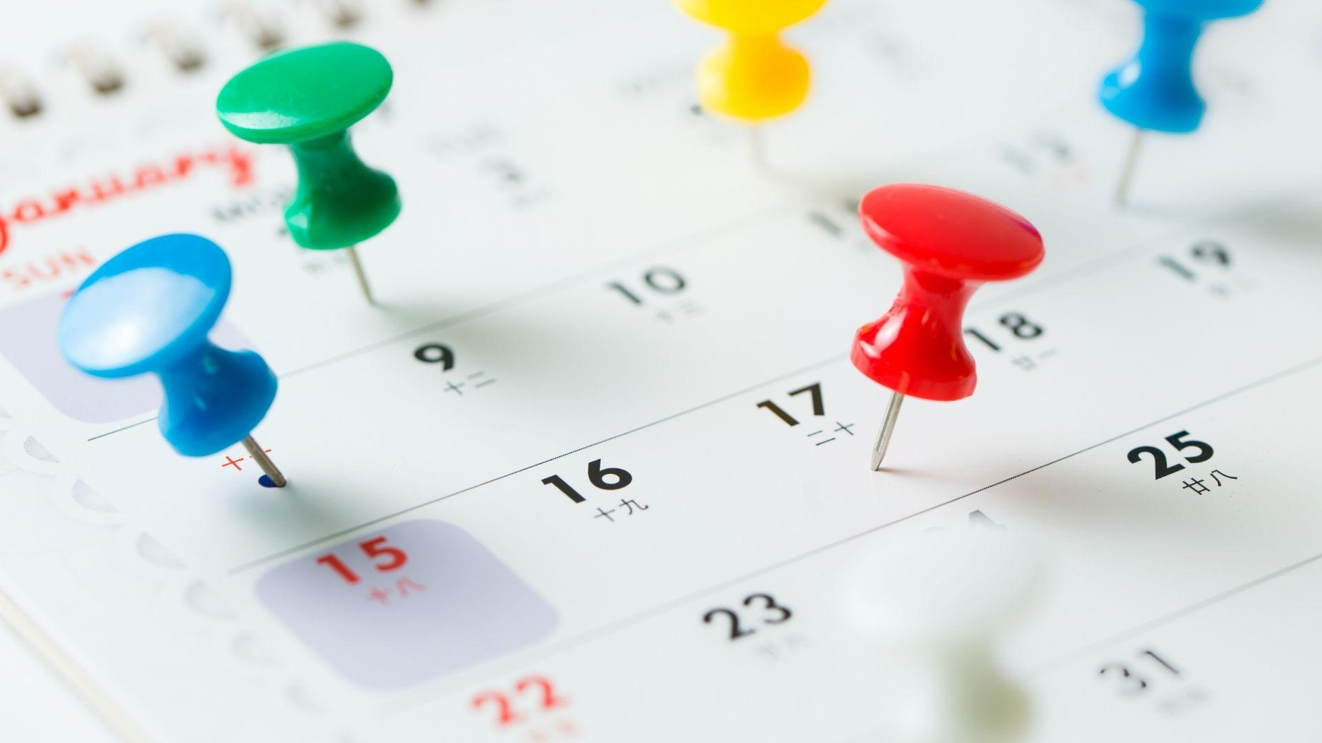 Index Rebalance Calendar